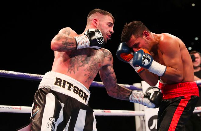Lewis Ritson dispatched Oscar Amador ahead of a bid for European glory in Newcastle next month. Photo Credit: Sky Sports.