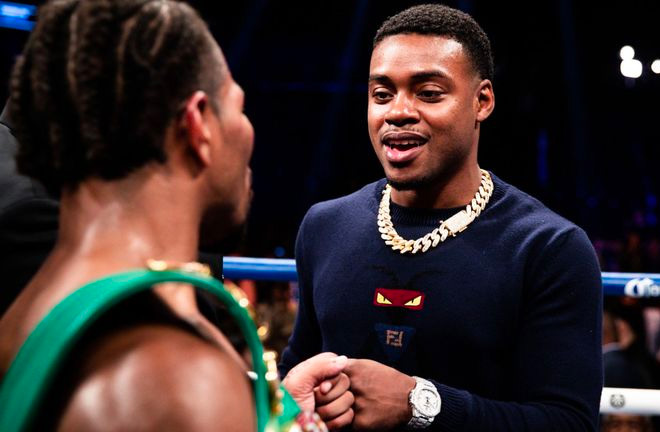 Spence Jr calls out Shawn Porter. Photo Credit: Sky Sports