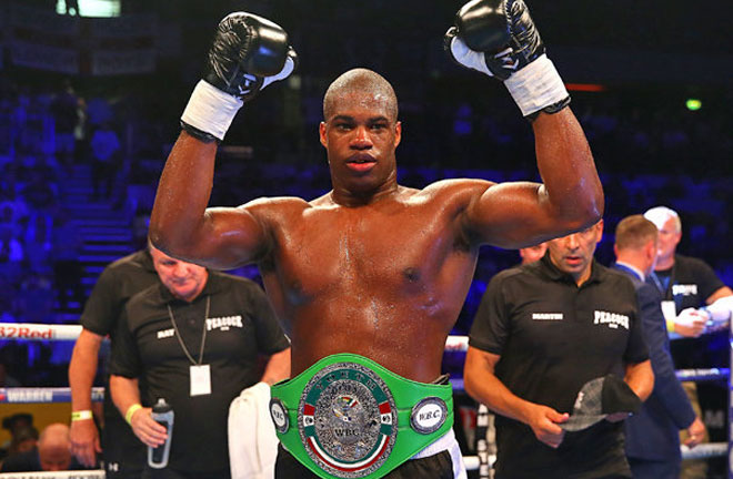 Daniel Dubois is planning on making a statement against former World Heavyweight Title challenger, Kevin Johnson. Photo Credit: Daily Star