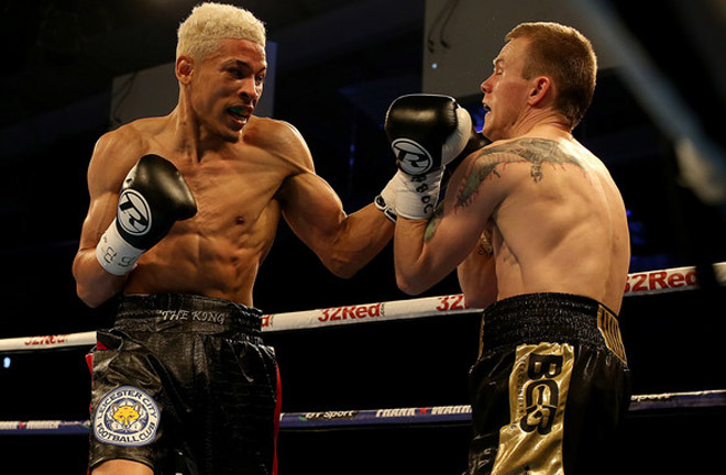 Lyon Woodstock impressed against Paul Holt and is looking to impress once again this Saturday against Archie Sharp. Photo Credit: Zimbio