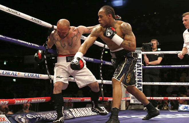 Anthony Yarde will be fighting on 20th October. at the Brentwood Centre in Essex. Photo Credit: Boxing News
