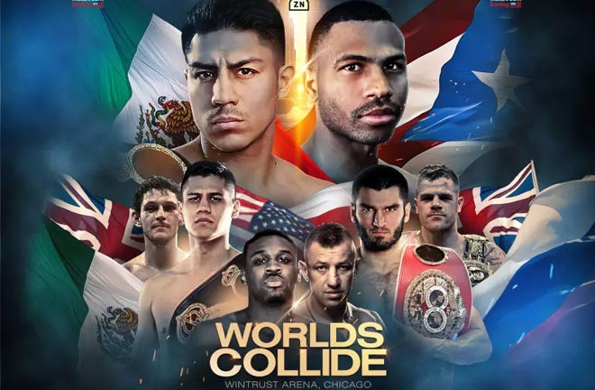 Fight Preview & Predictions for this weekend show in Chicago. Photo Credit: Matchroom Boxing