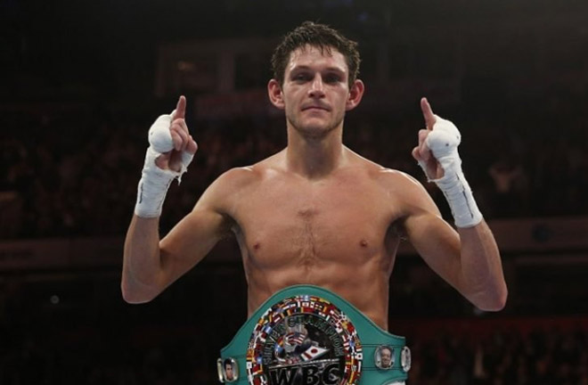 Gavin McDonnell challenges for the WBA Super Bantamweight against  Daniel Roman this weekend. Photo Credit: The Ring Magazine