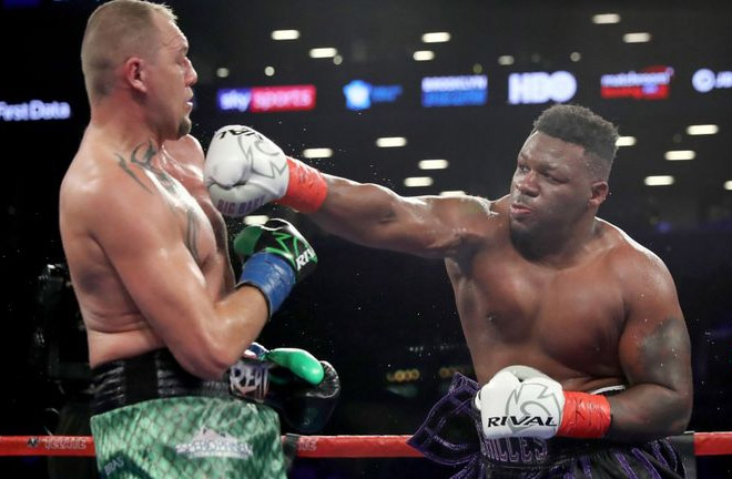 Jarrell Miller is aiming to impress against Thomas Adamek to manoeuvre himself into a World Title shot. Photo Credit: Sky Sports