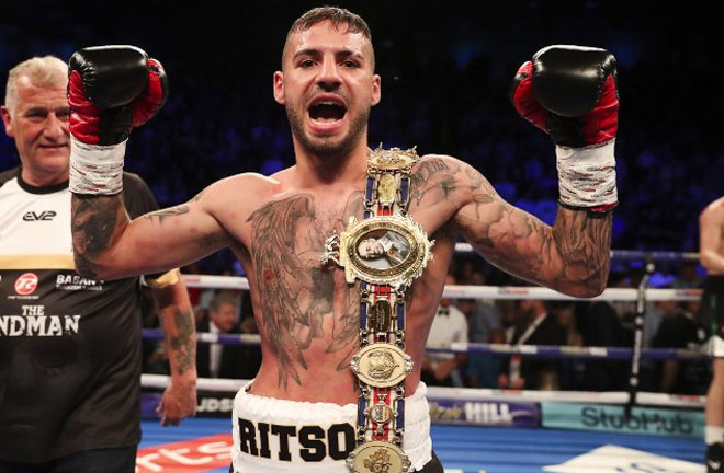 Lewis Ritson excited about fighting in his home down this weekend. Photo Credit: Boxing Scene
