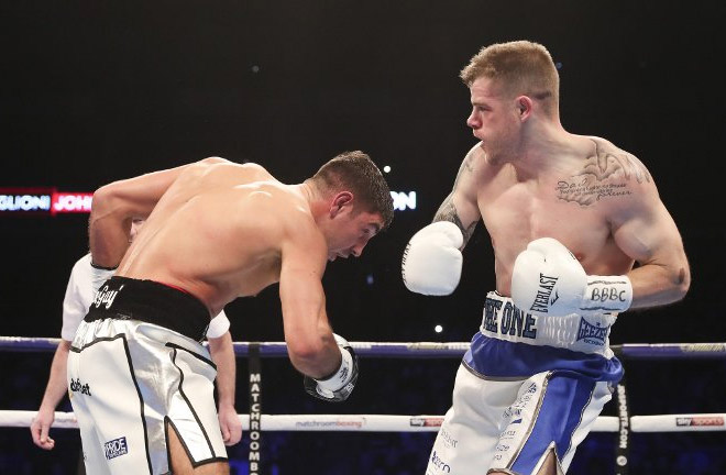 Callum Johnson shocked people when he defeated Frank Buglioni. Photo Credit: Boxing Scene