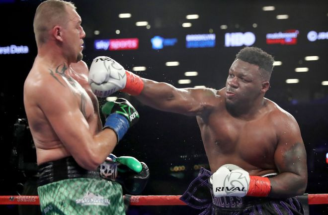 Jarrell Miller is hoping for a world title shot soon. Photo Credit: Sky Sports