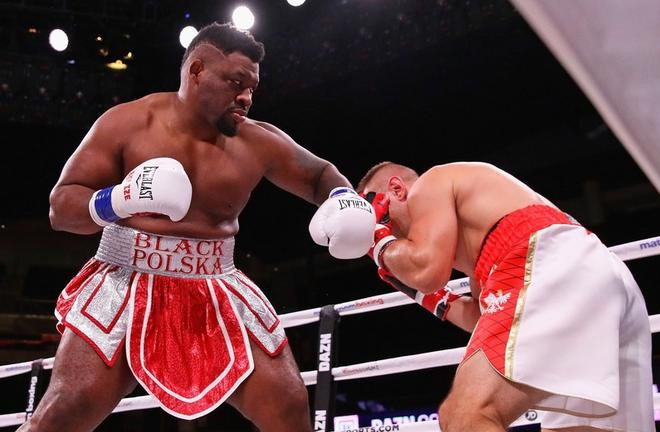 Jarrell Miller destroys Tomasz Adamek in two rounds. Photo Credit: Sport - Super Express