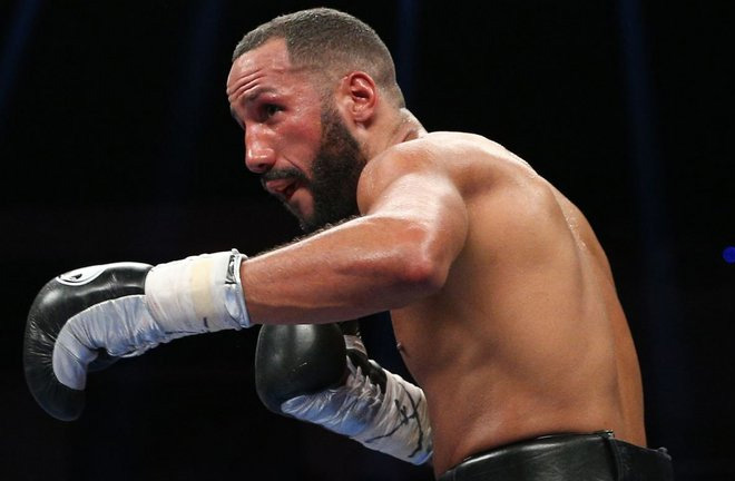 James Degale stopped Fidel Monterrosa in three rounds in California. Photo Credit: Sky Sports