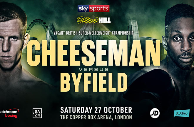 Bermondsey puncher says Byfield has talked his way into a title shot. Photo Credit: Matchroom Boxing