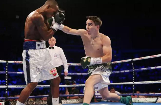 Michael Conlan to fight in Las Vegas this Saturday night. Photo Credit: Belfast Newsletter