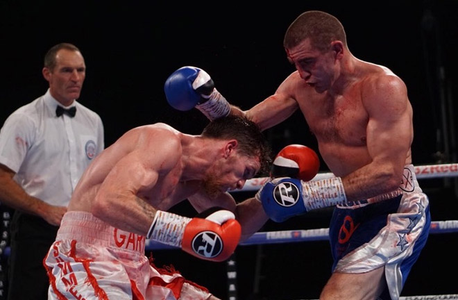 Garton became British Champion with a great performance. Photo Credit: World Boxing News