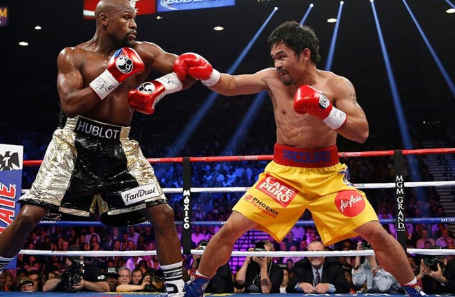 HBO and Showtime worked together to secure Floyd Mayweather vs Manny Pacquiao in 2015 Photo Credit: Sportsnet