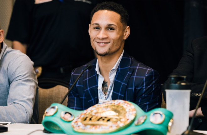 Regis Prograis looking relaxed ahead of his fight with Terry Flanagan. Photo Credit: World Boxing Super Series