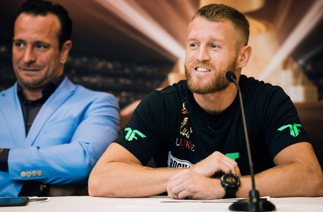 Terry Flanagan in good spirits ahead of his fight against Regis Prograis. Photo Credit: World Boxing Super Series