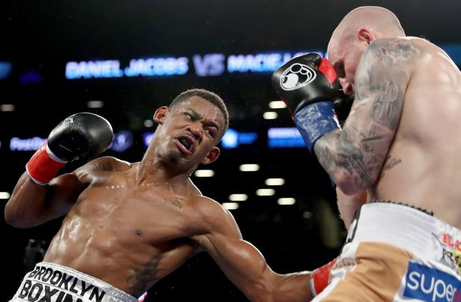 Daniel Jacobs' last outing was against Maciej Sulecki back in April. Photo Credit: Sky Sports