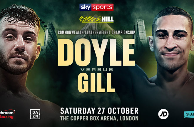 Jordan Gill is determined to prove the hype is real when he challenges Ryan Doyle for the Commonwealth Featherweight crown. Photo Credit: Matchroom Boxing