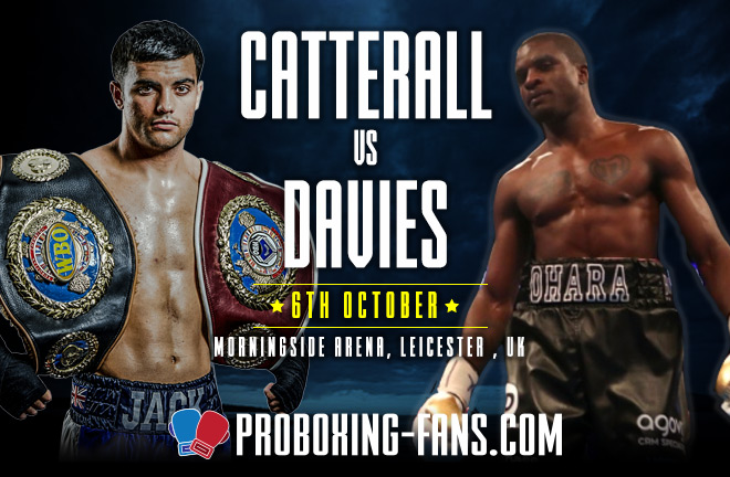 Catterall-Davies Fight Preview & Prediction