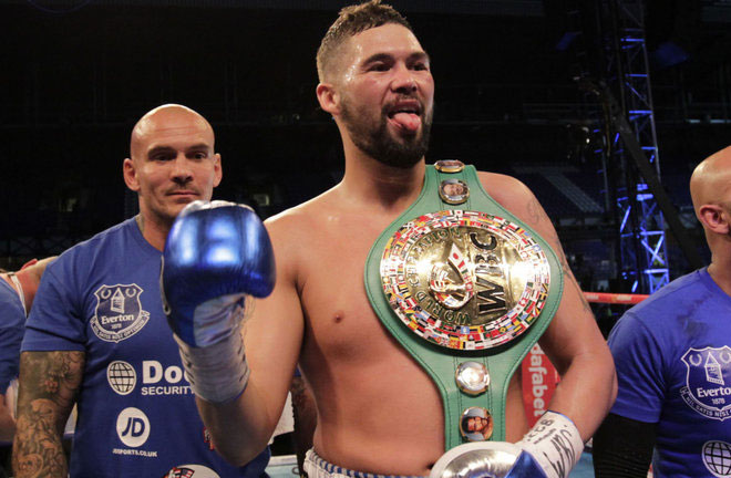 Bellew he fulfilled a boyhood dream, knocking out Ilunga Makabu. Photo Credit: Sky Sports