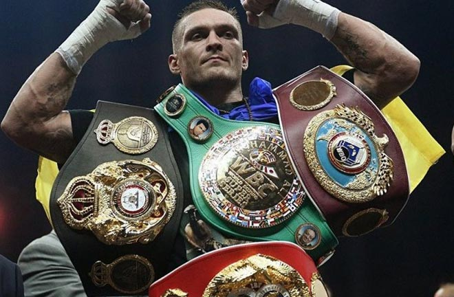 Usyk is the undisputed cruiserweight champion. Photo Credit: mma-today.com