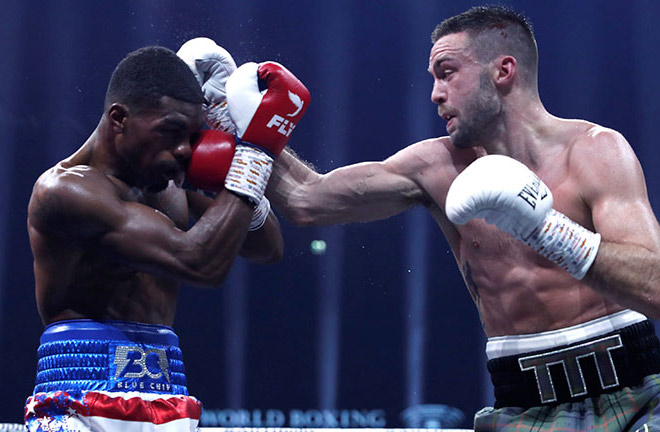 Josh Taylor advances to the semi-finals of the WBSS with a victory over Ryan Martin. Photo Credit: Boxing News