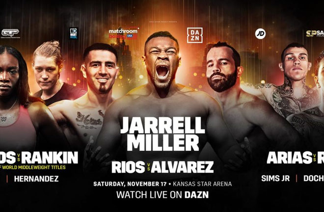 DAZN Kansas Show – Big Fight Previews & Predictions. Photo Credit: Matchroom Boxing