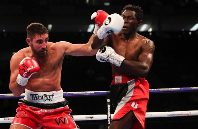 'Wise Guy' says win over Meng will fire him back into World title contention. Photo Credit: Matchroom Boxing