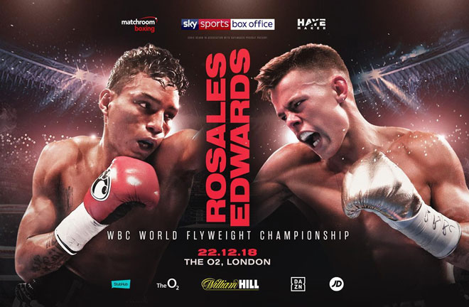 Charlie Edwards will challenge Cristofer Rosales for the WBC World Flyweight Championship on the undercard of Dillian Whyte vs. Derek Chisora 2. Photo Credit: Matchroom Boxing