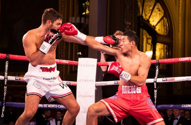 Buglioni suffers defeat against Meng. Photo Credit: Sky Sports