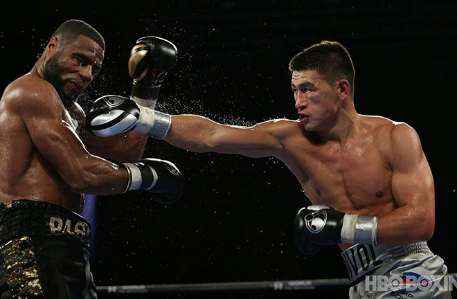 Dmitry Bivol defeated Jean Pascal to defend his title. Photo Credit: HBO Boxing