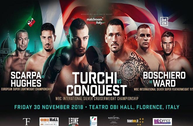 Matchroom Italy Show – Previews & Predictions. Photo Credit: World Boxing News