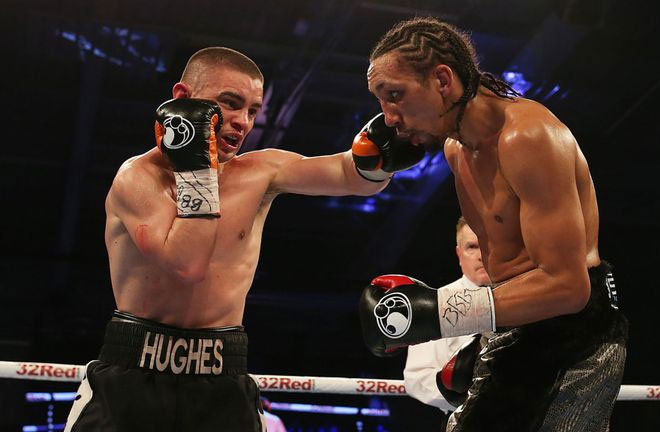 Joe Hughes fights for a European title in Florence. Photo Credit: Sky Sports