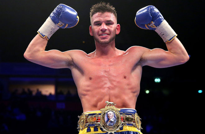 Martin J Ward will take on Devis Boschiero for the WBC Silver Super Featherweight Title. Photo Credit: Sky Sports