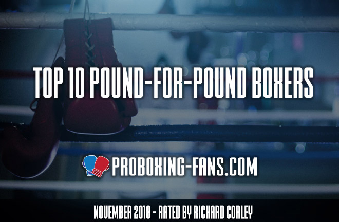 Top 10 Pound-for-Pound Boxers in the World – November 2018.