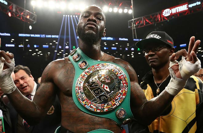 Wilder is looking forward to facing Fury in the ring on Saturday. Photo Credit: The Week UK
