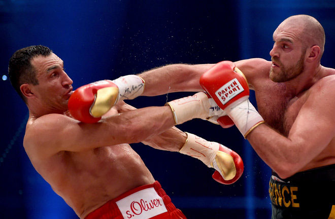 Tyson Fury beat Wladimir Klitschko back in 2015. Photo Credit: Sky Sports