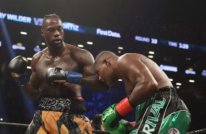 Wilder's last scrap was against Luis Ortiz. Photo Credit: Bad Left Hook