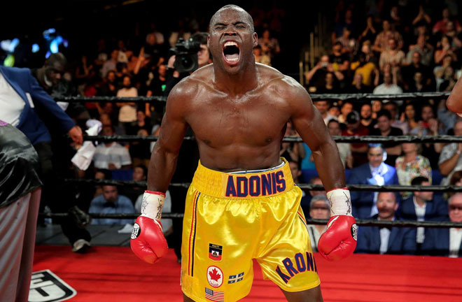 Adonis Stevenson enters this fight with a 29-1-1 record that includes 24 knockouts. Photo Credit: Premier Boxing Champions