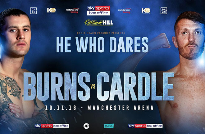 Ricky Burns says his clash with Scott Cardle is a must-win fight for both men. Photo Credit: Matchroom Boxing