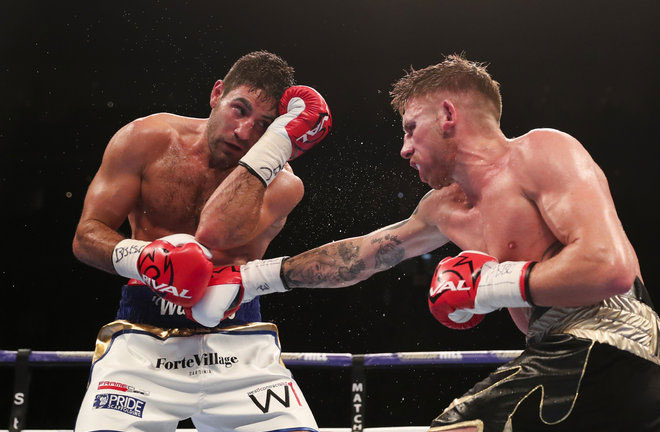Buglioni says a win over Fanlong Meng will re-establish him as one of the biggest threats in the Light-Heavyweight division. Photo Credit: Sky Sports