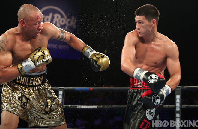 Bivol looking to show his sills and power on Saturday night. Photo Credit: HBO Boxing