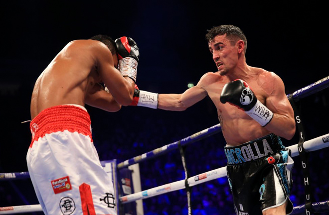 Anthony Crolla looked convincing as he knotched up another W with a win by decision last night.