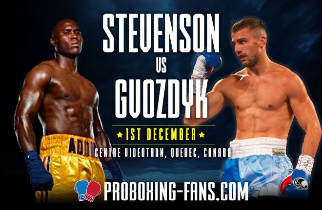 Stevenson v Gvozdyk – Big Fight Preview & Prediction.