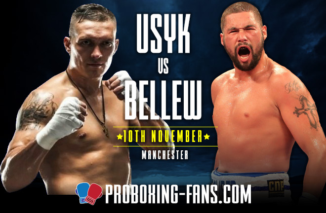 Usyk vs Bellew - Fight Prediction & Preview