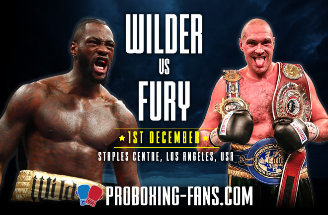 Wilder v Fury – Big Fight Preview & Prediction