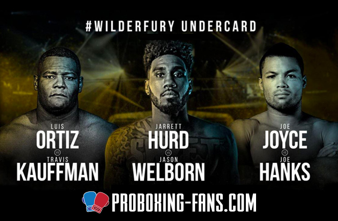 The #WILDERFURY Undercard - featuring Joe Joyce, Jason Welborn & Luis Ortiz
