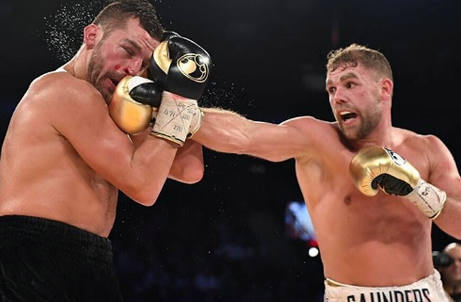 Billy Joe Saunders makes his return to the ring this Saturday night against Zoltan Sera. Photo Credit: Ringpolska.pl