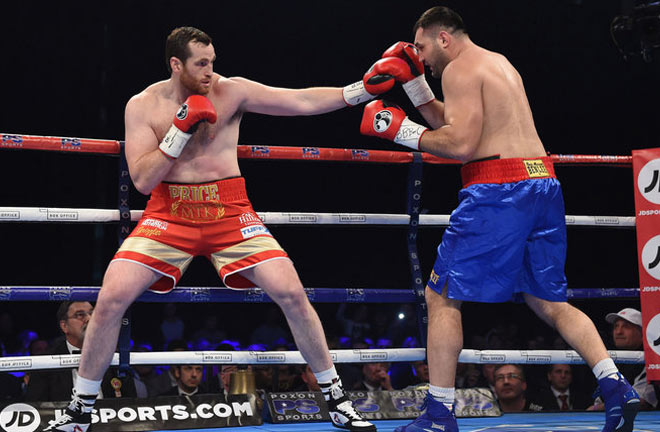 Price is hoping a victory over Tom Little will give him a big fight in the New Year. Photo Credit: Sky Sports