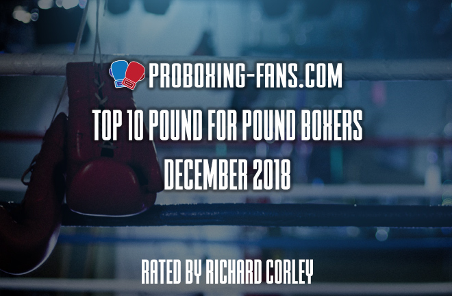 Top 10 Pound-for-Pound Boxers in the World – December 2018