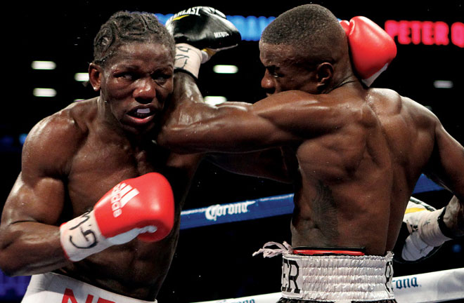 Hassan N'Dam N'Jikam is hoping for third time lucky when he takes on Martin Murray. Photo Credit: Boxing News